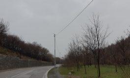 Общината изгради допълнително осветление по пътя за лифта