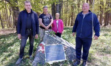 Възстановиха паметна плоча на Иларион Драгостинов в Сливенския балкан