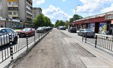 Променят за седмица движението край пазара заради асфалтиране