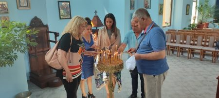 ГЕРБ–Сливен дари икона за храмовия празник на село Мечкарево
