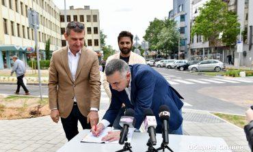"""Проектантът на бул. """"Хаджи Димитър"""": Качеството на изпълнение на обекта е на много високо ниво"""