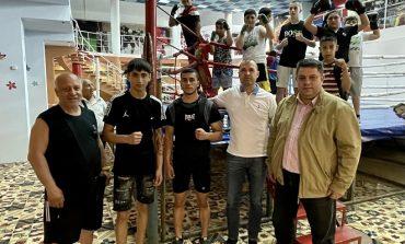 Атанас Зафиров и Деян Дечев се срещнаха с ръководството на бокса в Сливен