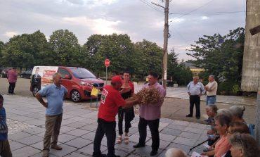 Топло посрещане за Атанас Зафиров и д-р Събина Петканска в Селиминово