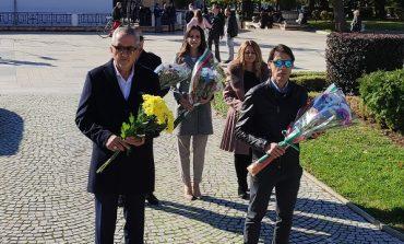 Кандидатите за народни представители от ГЕРБ-СДС и общински съветници положиха цветя пред паметника на Хаджи Димитър на Димитровден